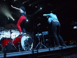 Matt & Kim at the House of Blues in Showboat, AC
